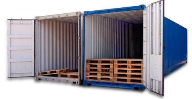 široka paleta kontejneri